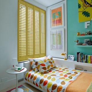 Custom Colour Full Height Shutters