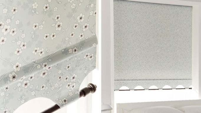Sakura Grey Roller Blinds