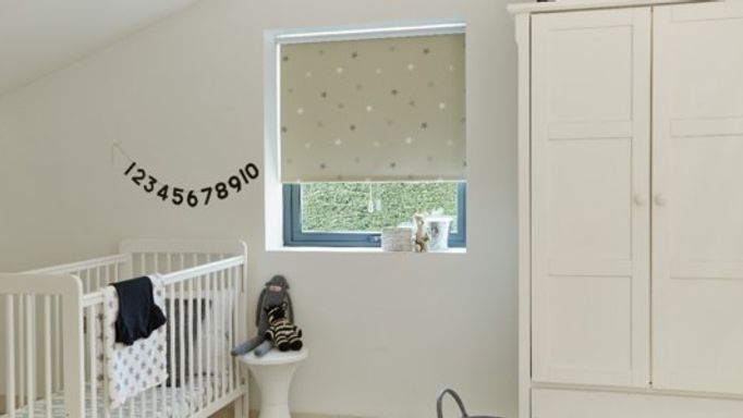 Childrens blackout roller blind