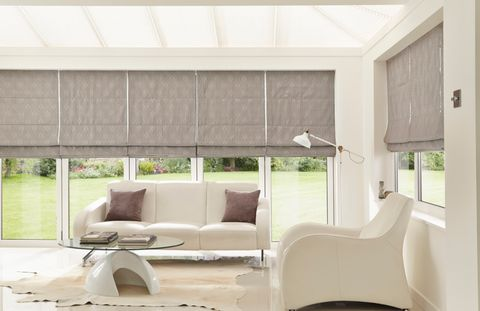 Element_Grey_Roman_blind_with_Grenoble_Taupe_Pleated_blind