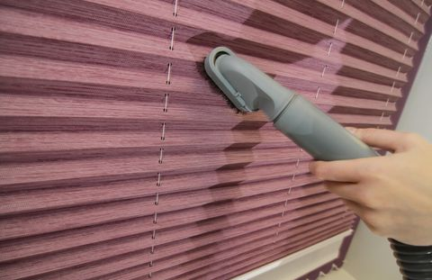 Vacuuming Conservatory Roof blinds