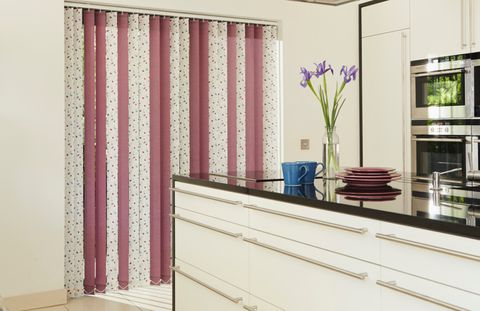 Edra Violet Tresco Plum Mix Vertical blind