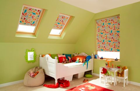 Animals Orange Roller blinds