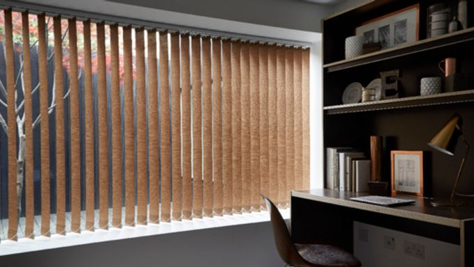 Copper Vertical blind