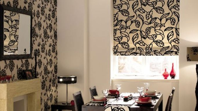 inca jet thermal roman blind