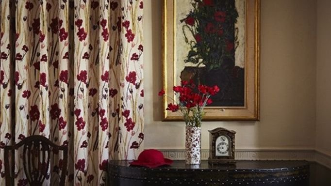 wild poppies curtains country retreat