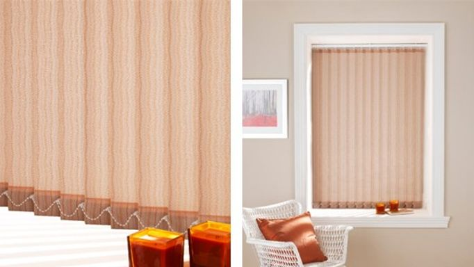 elderfield orange vertical blind