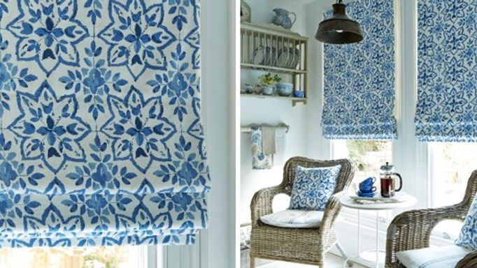 bazaar porcelain roman blinds
