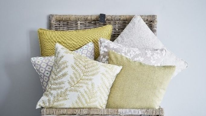 Yellow Mustard Cushions