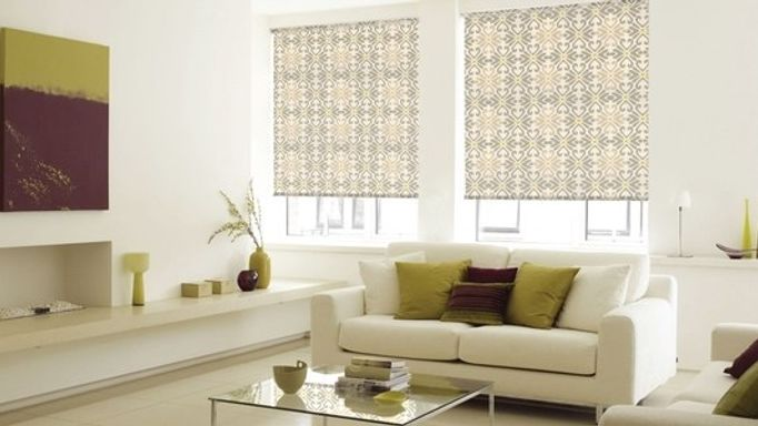 Banik Light Grey Roller Blinds