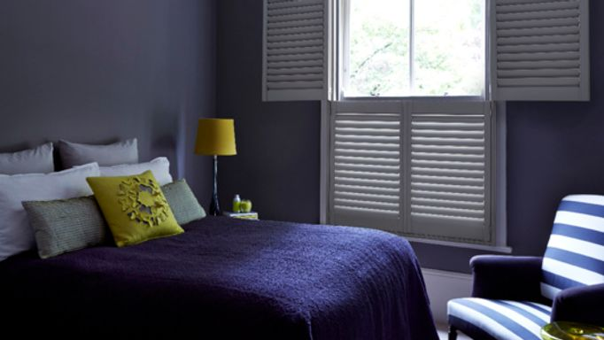 Tier on Tier bedroom shutters