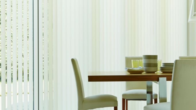 Cooper Cream Vertical blinds