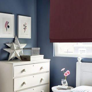 Roman Blind_Radiance Berry_Roomset