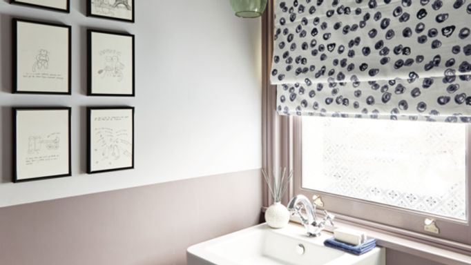 Charlotte-Beevor-Confetti-Misty-Blue-Roman-blind-bathroom