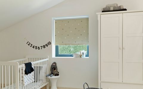 Nursery roller blinds