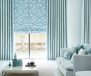 Honesty-Mist-Roman-blind-with-Origami-Mist-curtains
