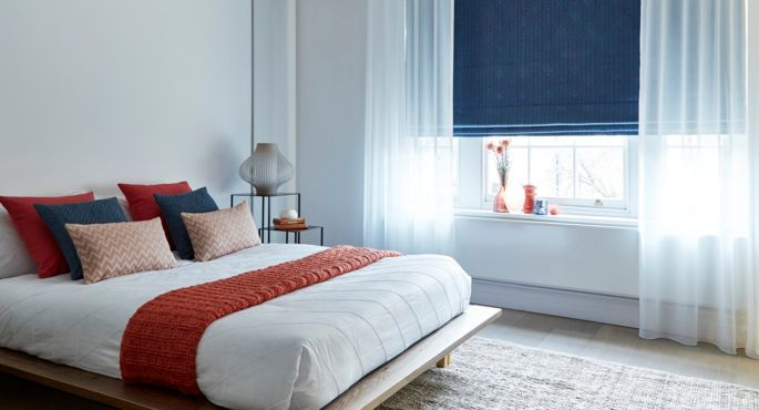 Ozone-Voile-curtains-with-Element-Denim-Roman-blind -