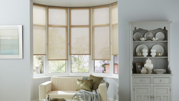 Tatum-Beige-Roller-blind-in-bay-window