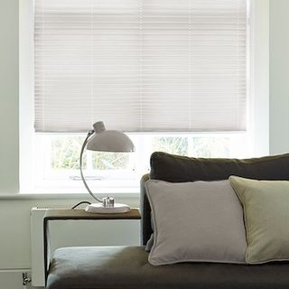 Pleated Blind_Salerno White_Roomset