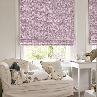 Roman Blind_Daze Berry_Roomset