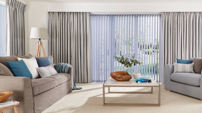 Patti-Royal-Vertical-blinds-with-Hatti-Chambray-curtains.