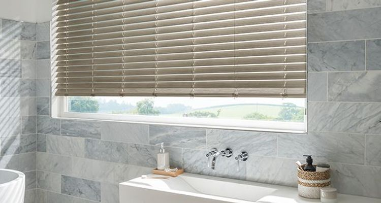 Grey Wooden Blinds 50 Off Sale Now On Hillarys