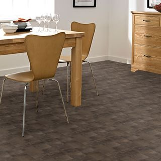 Roomset - Homestyle Vinyl Iron Tile Black