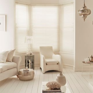 Pure-White-Wooden-blind-living-room