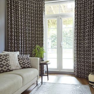 Curtain Muriva Cocoa Roomset