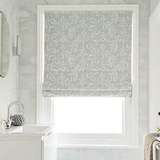 Roman blind Seraphina Silver Roomset