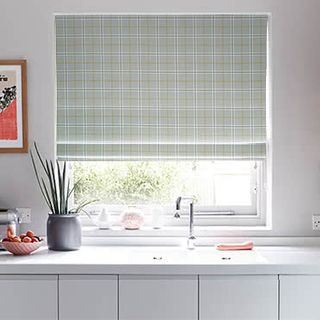 Roman Blind Wallace Chartreuse