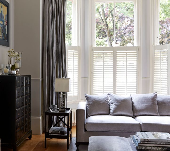 How To Pair Shutters With Curtains Hillarys