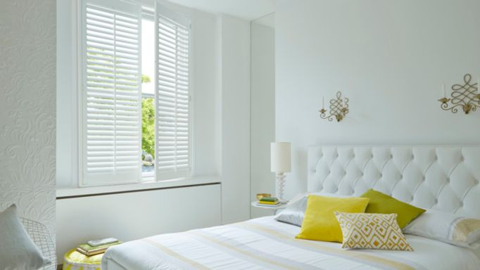 Windsor Pure White Full-height Shutters