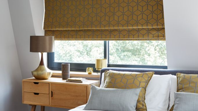 Nexus-Brushed-Gold-Roman-blind