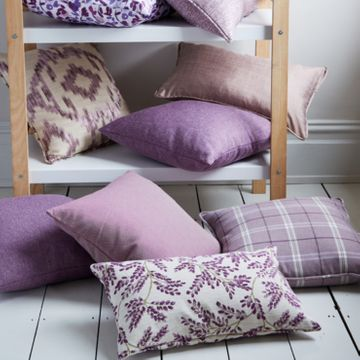 Purple cushion collection