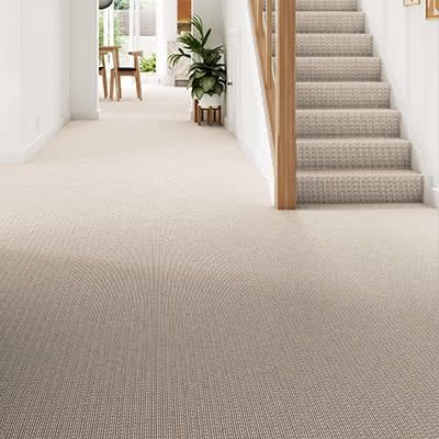 Cream-carpet-hallway-stairs-bridgford-cord