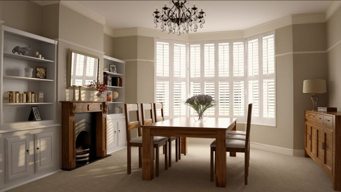 dining-room-white-shutters
