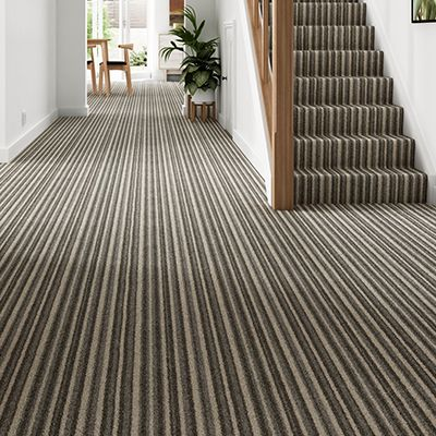 Brown-striped-carpet-stair-hallway-Montrose-Acorn-Stripe