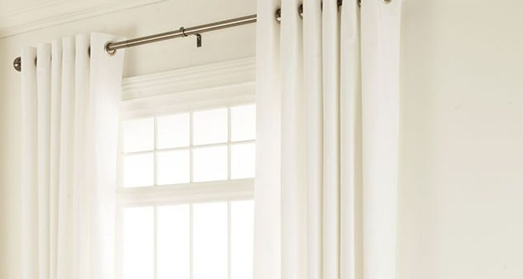 White Eyelet Curtains - White Made to Measure Curtains