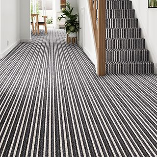 Montrose Moonshine Stripe carpet