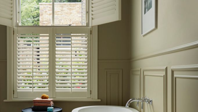 sash window shutters-bathroom