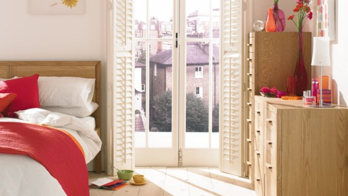 shutters for french doors-white-bedroom
