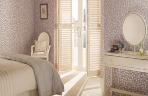 shutters for french doors-cream-bedroom