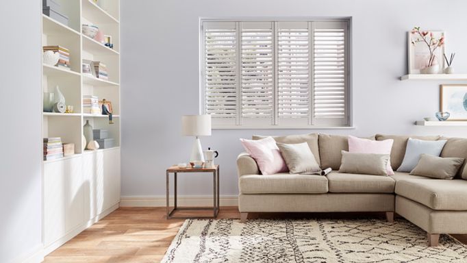 small window shutters-living room-full height