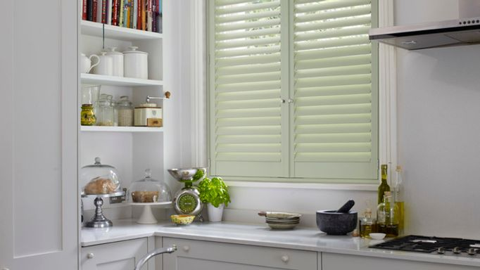 custom colour-shutters for small windows-kitchen