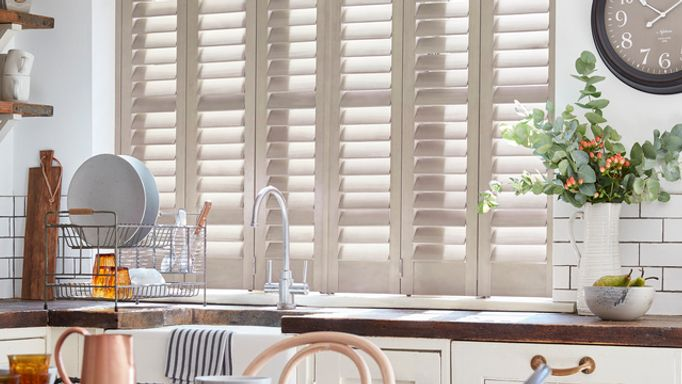 small window-kitchen-white shutters