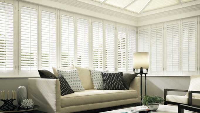 HB-Trad Lounge -White Shutters-Conservatory