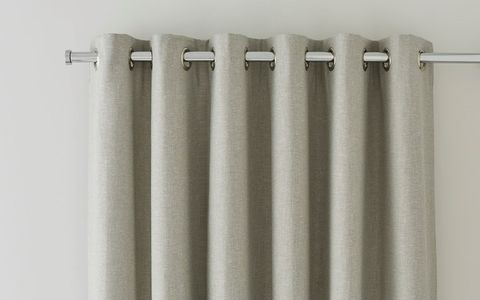 Eyelet Curtains Header Rail - Made to Measure Eyelet Curtains