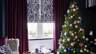 charlotte-beevor-christmas-roman blinds-curtains