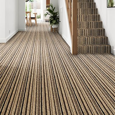 Grey-brown-striped-carpet-stair-hallway-Blenheim-Stripe-Charcoal